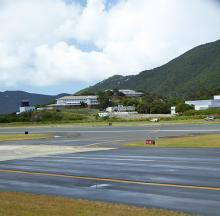 The Cyril E. King Airport on St. Thomas, which was provided $20 million in grants.